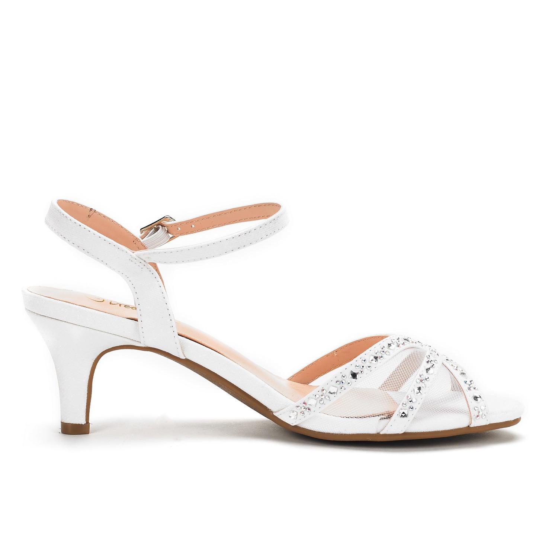 DREAM-PAIRS-Women-Nina-Summer-Dance-Open-Toe-Dress-Wedding-Low-Heel-Pump-Sandals thumbnail 26