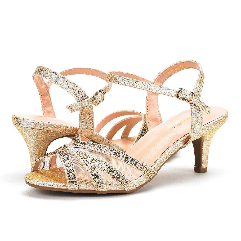DREAM-PAIRS-Women-Nina-Summer-Dance-Open-Toe-Dress-Wedding-Low-Heel-Pump-Sandals thumbnail 37
