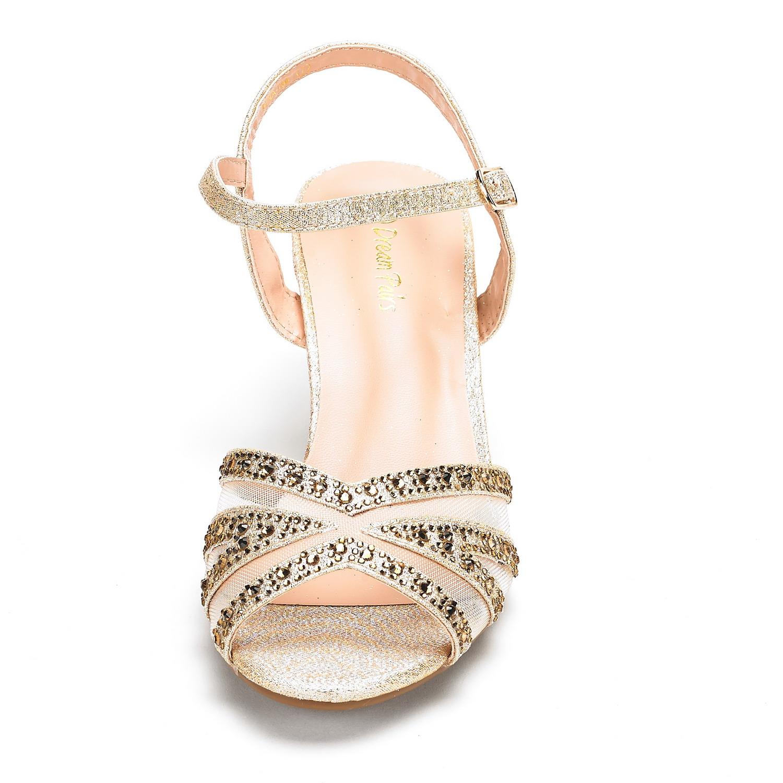 DREAM-PAIRS-Women-Nina-Summer-Dance-Open-Toe-Dress-Wedding-Low-Heel-Pump-Sandals thumbnail 39