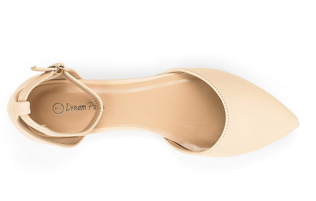 thumbnail 45 - DREAM PAIRS Women's Ballerina Ballet Flats Pointed Toe Ankle Strap Flat Shoes