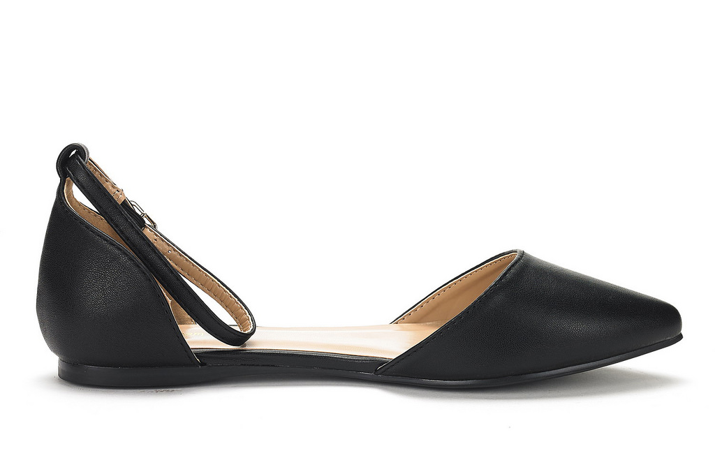 DREAM-PAIRS-Women-039-s-Ballerina-Ballet-Flats-Pointed-Toe-Ankle-Strap-Flat-Shoes thumbnail 47