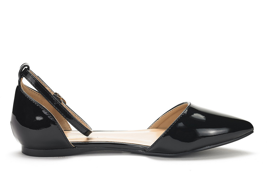 DREAM-PAIRS-Women-039-s-Ballerina-Ballet-Flats-Pointed-Toe-Ankle-Strap-Flat-Shoes thumbnail 3