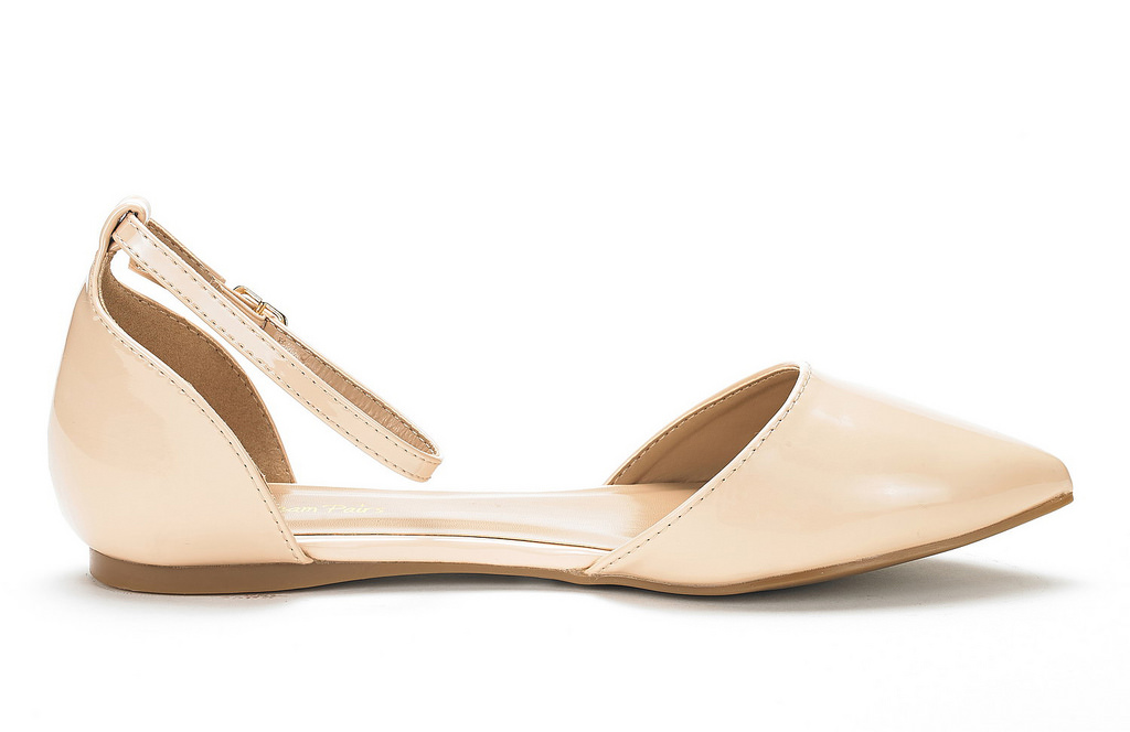 DREAM-PAIRS-Women-039-s-Ballerina-Ballet-Flats-Pointed-Toe-Ankle-Strap-Flat-Shoes thumbnail 7