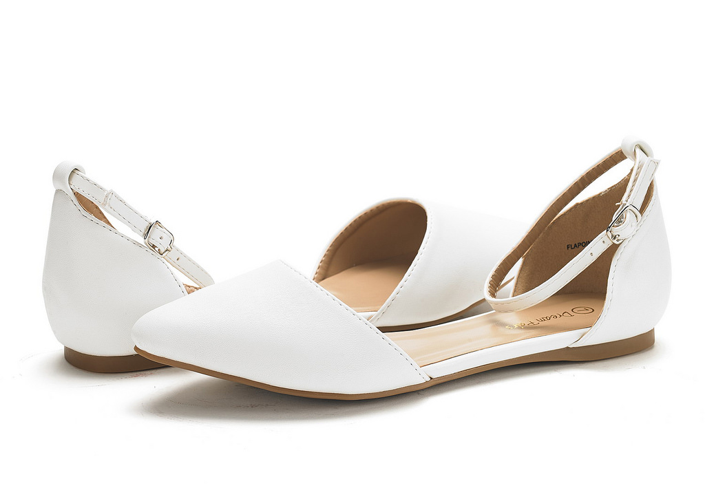 DREAM-PAIRS-Women-039-s-Ballerina-Ballet-Flats-Pointed-Toe-Ankle-Strap-Flat-Shoes thumbnail 56