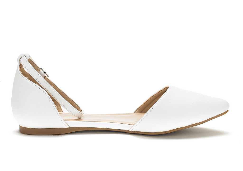 DREAM-PAIRS-Women-039-s-Ballerina-Ballet-Flats-Pointed-Toe-Ankle-Strap-Flat-Shoes thumbnail 55