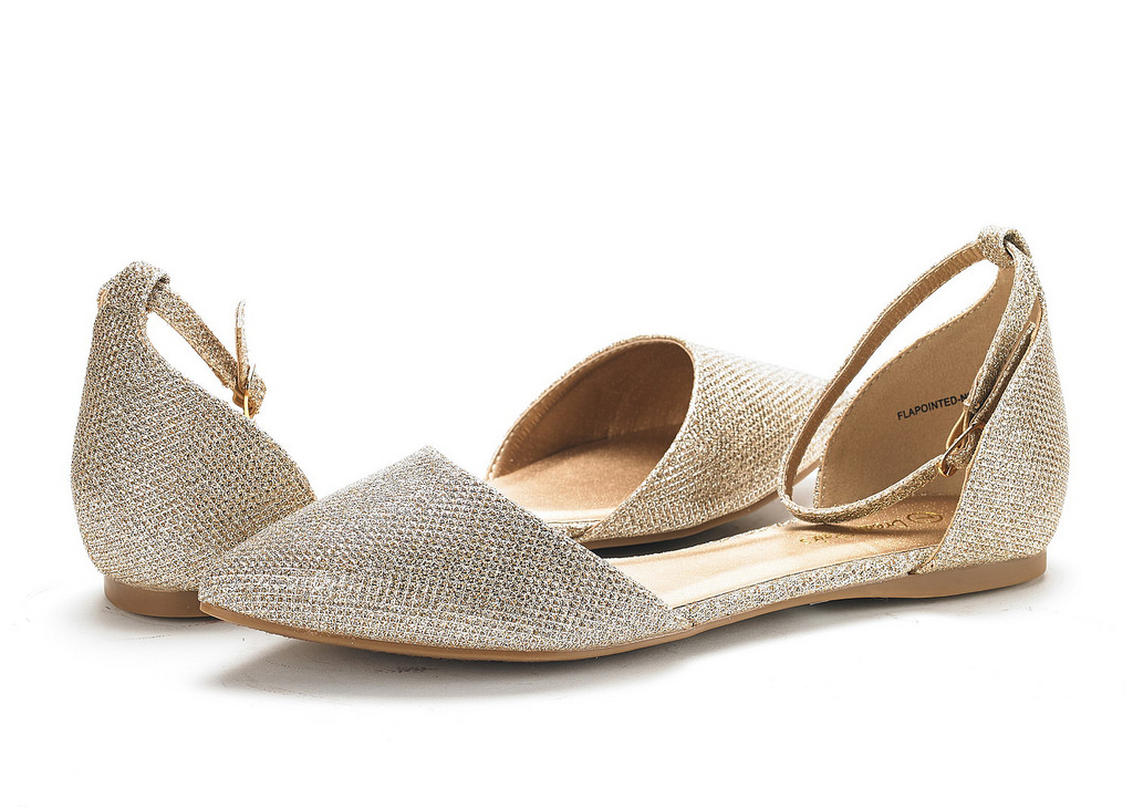 DREAM-PAIRS-Women-039-s-Ballerina-Ballet-Flats-Pointed-Toe-Ankle-Strap-Flat-Shoes thumbnail 16