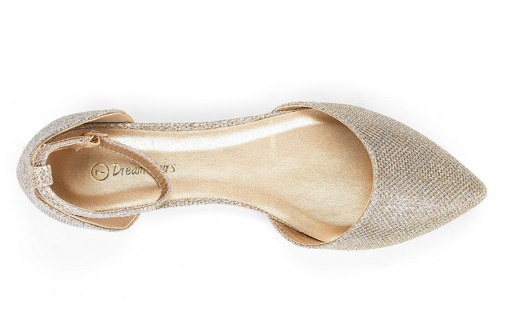 DREAM-PAIRS-Women-039-s-Ballerina-Ballet-Flats-Pointed-Toe-Ankle-Strap-Flat-Shoes thumbnail 17