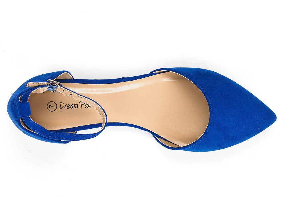 thumbnail 25 - DREAM PAIRS Women's Ballerina Ballet Flats Pointed Toe Ankle Strap Flat Shoes