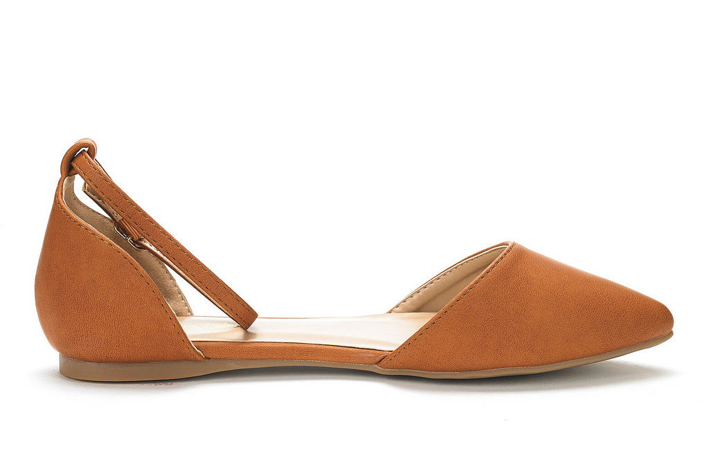 DREAM-PAIRS-Women-039-s-Ballerina-Ballet-Flats-Pointed-Toe-Ankle-Strap-Flat-Shoes thumbnail 27