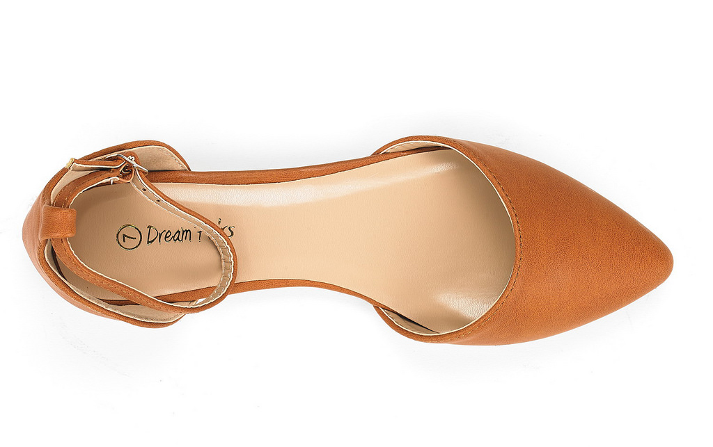 DREAM-PAIRS-Women-039-s-Ballerina-Ballet-Flats-Pointed-Toe-Ankle-Strap-Flat-Shoes thumbnail 29