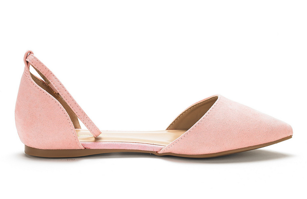 thumbnail 59 - DREAM PAIRS Women's Ballerina Ballet Flats Pointed Toe Ankle Strap Flat Shoes