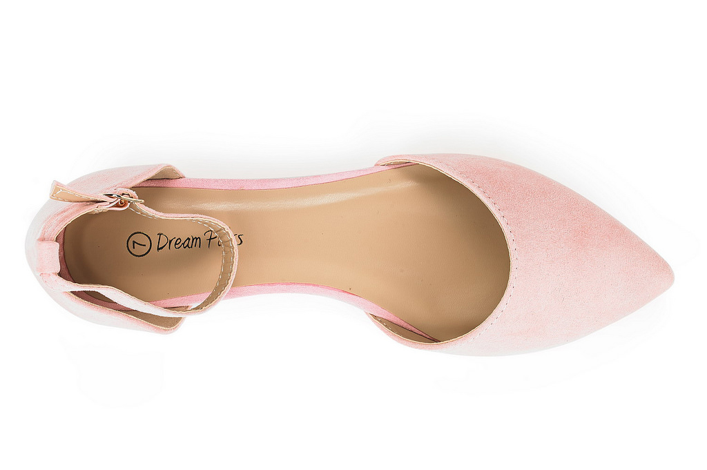 thumbnail 61 - DREAM PAIRS Women's Ballerina Ballet Flats Pointed Toe Ankle Strap Flat Shoes