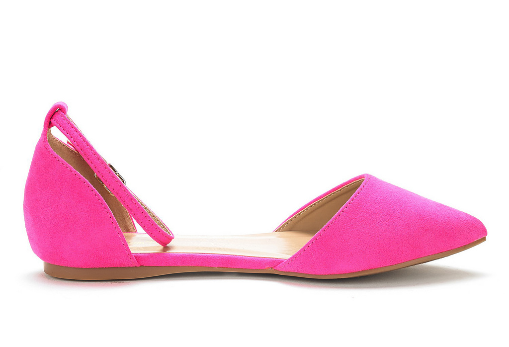 DREAM-PAIRS-Women-039-s-Ballerina-Ballet-Flats-Pointed-Toe-Ankle-Strap-Flat-Shoes thumbnail 63
