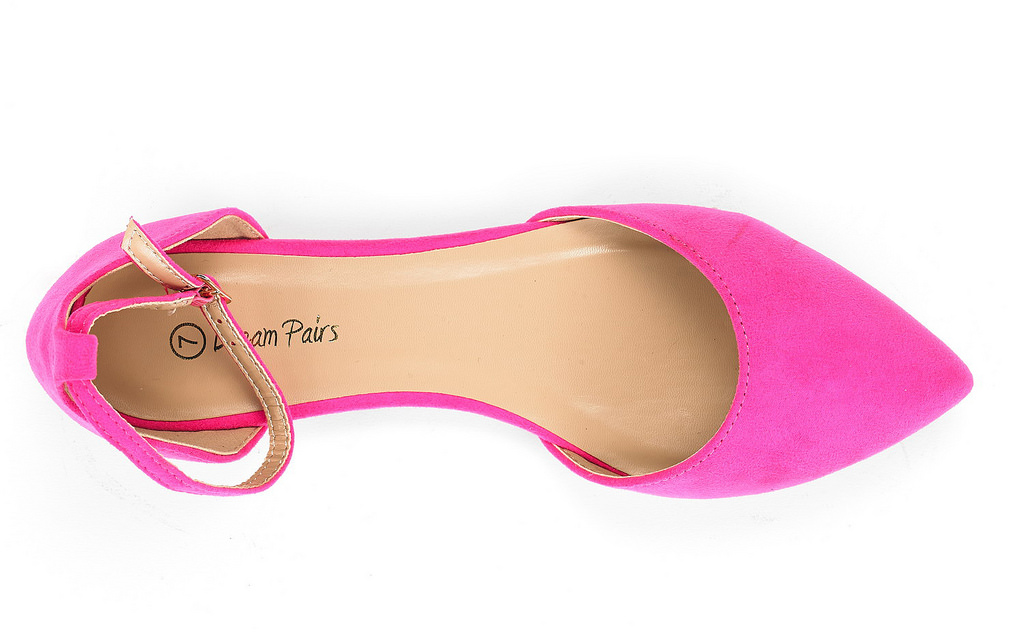 thumbnail 65 - DREAM PAIRS Women's Ballerina Ballet Flats Pointed Toe Ankle Strap Flat Shoes