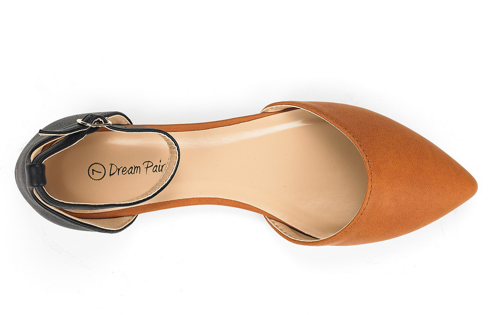 DREAM-PAIRS-Women-039-s-Ballerina-Ballet-Flats-Pointed-Toe-Ankle-Strap-Flat-Shoes thumbnail 69