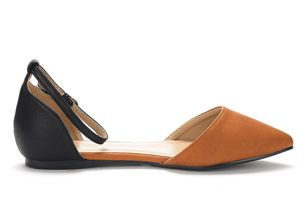 DREAM-PAIRS-Women-039-s-Ballerina-Ballet-Flats-Pointed-Toe-Ankle-Strap-Flat-Shoes thumbnail 67