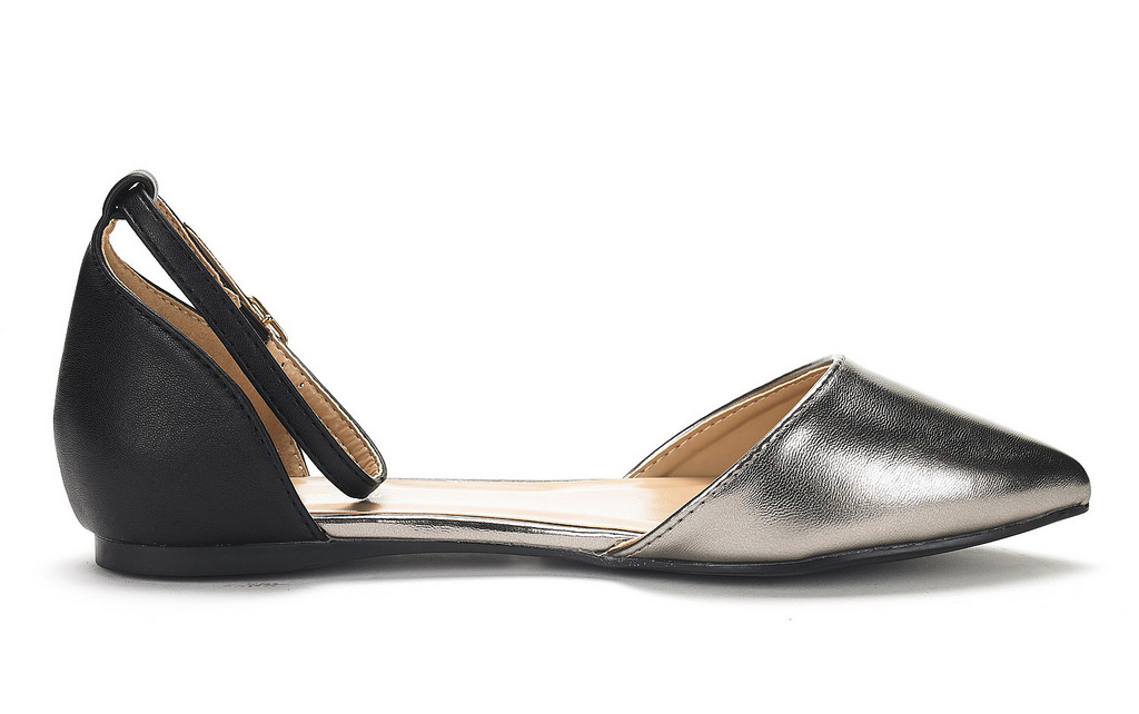 DREAM-PAIRS-Women-039-s-Ballerina-Ballet-Flats-Pointed-Toe-Ankle-Strap-Flat-Shoes thumbnail 35