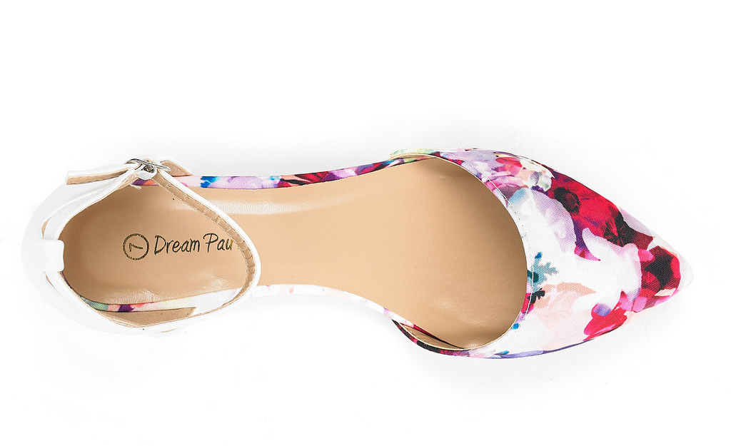 DREAM-PAIRS-Women-039-s-Ballerina-Ballet-Flats-Pointed-Toe-Ankle-Strap-Flat-Shoes thumbnail 76