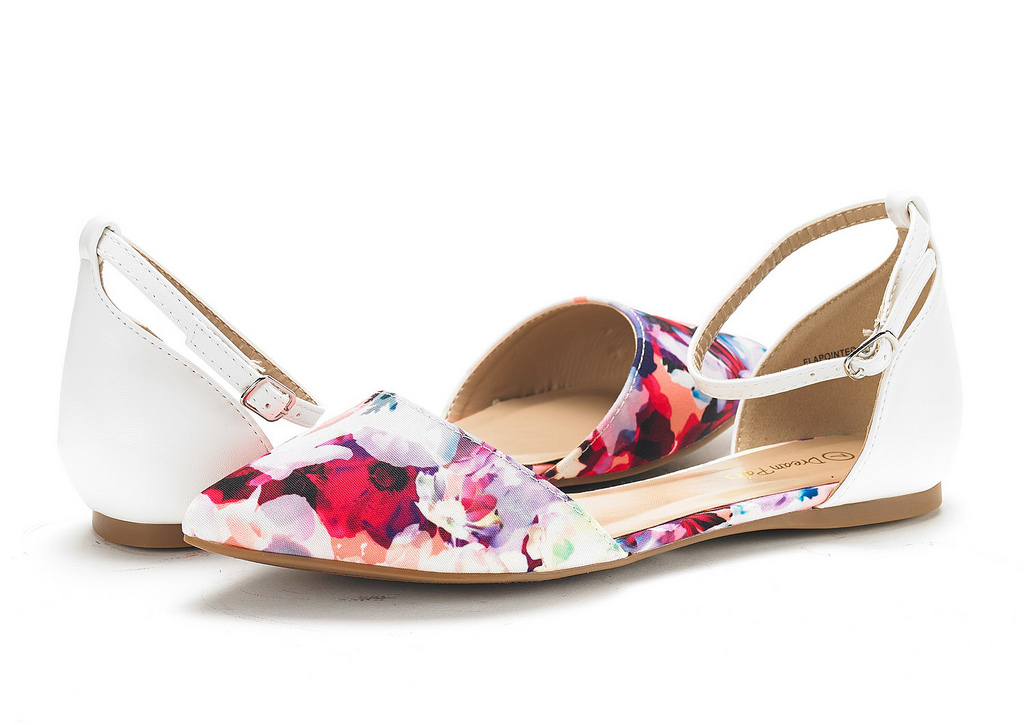 DREAM-PAIRS-Women-039-s-Ballerina-Ballet-Flats-Pointed-Toe-Ankle-Strap-Flat-Shoes thumbnail 75