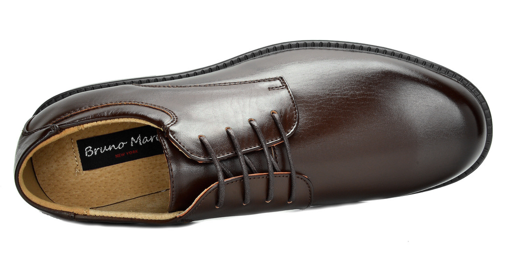 Bruno-MARC-DOWNING-Men-Formal-Classic-Lace-Up-Leather-Lined-Oxford-Dress-Shoes thumbnail 27