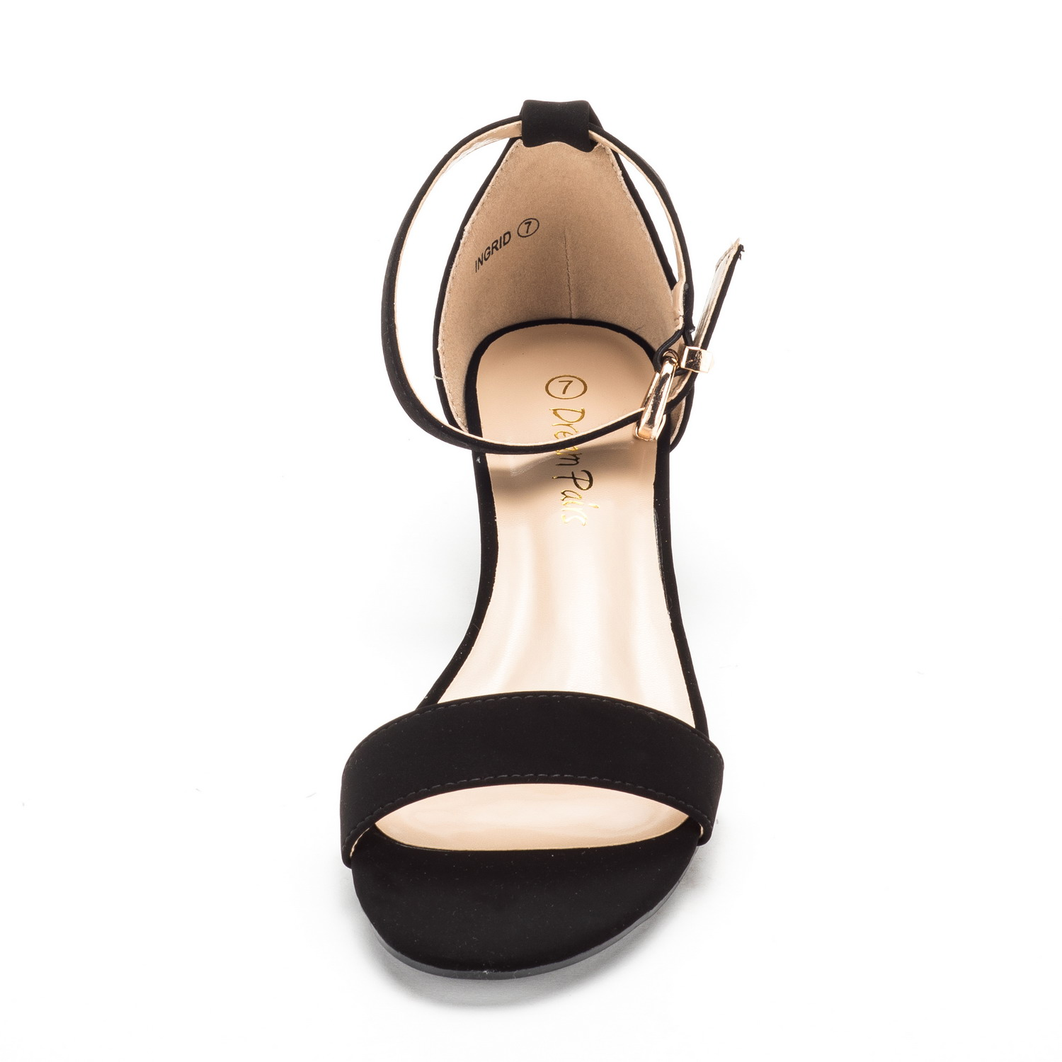 DREAM-PAIRS-Women-039-s-Ankle-Strap-Low-Wedge-Sandals-Open-Toe-Casual-Dress-Shoes thumbnail 12
