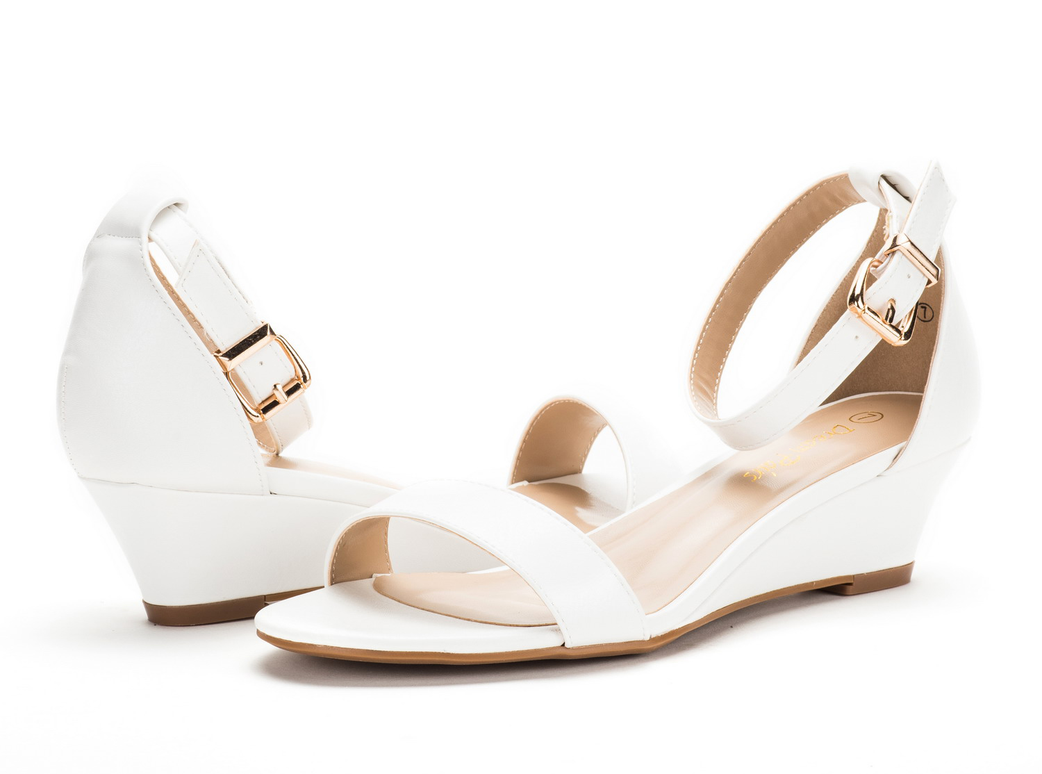 DREAM-PAIRS-Women-039-s-Ankle-Strap-Low-Wedge-Sandals-Open-Toe-Casual-Dress-Shoes thumbnail 22