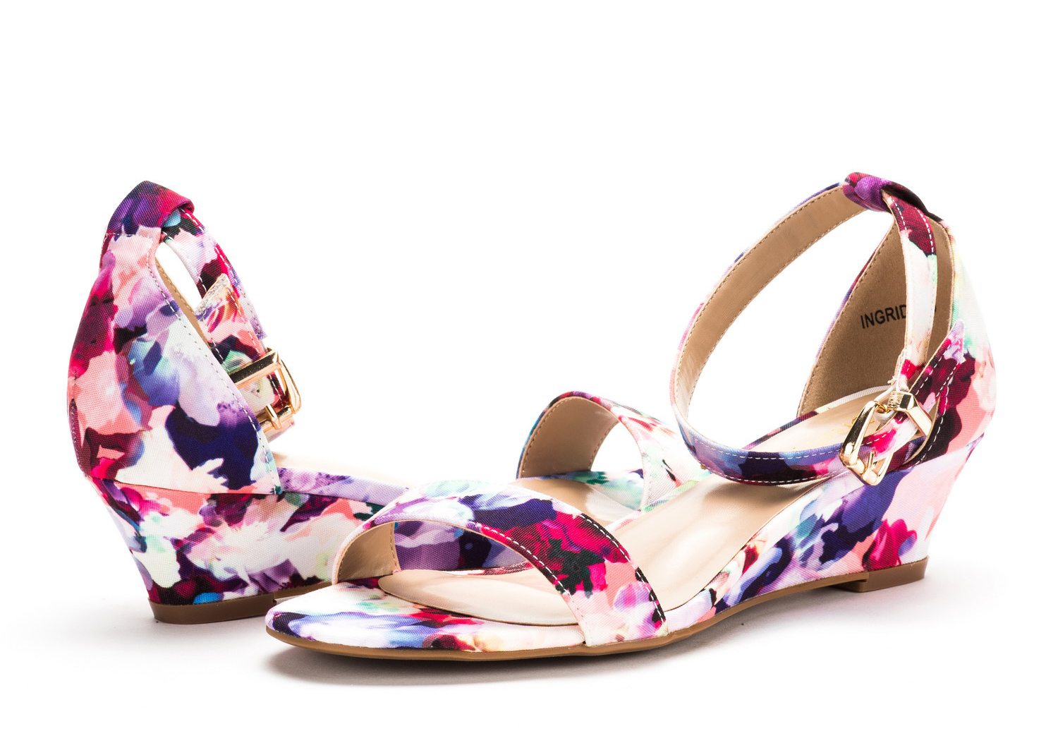 DREAM-PAIRS-Women-039-s-Ankle-Strap-Low-Wedge-Sandals-Open-Toe-Casual-Dress-Shoes thumbnail 18