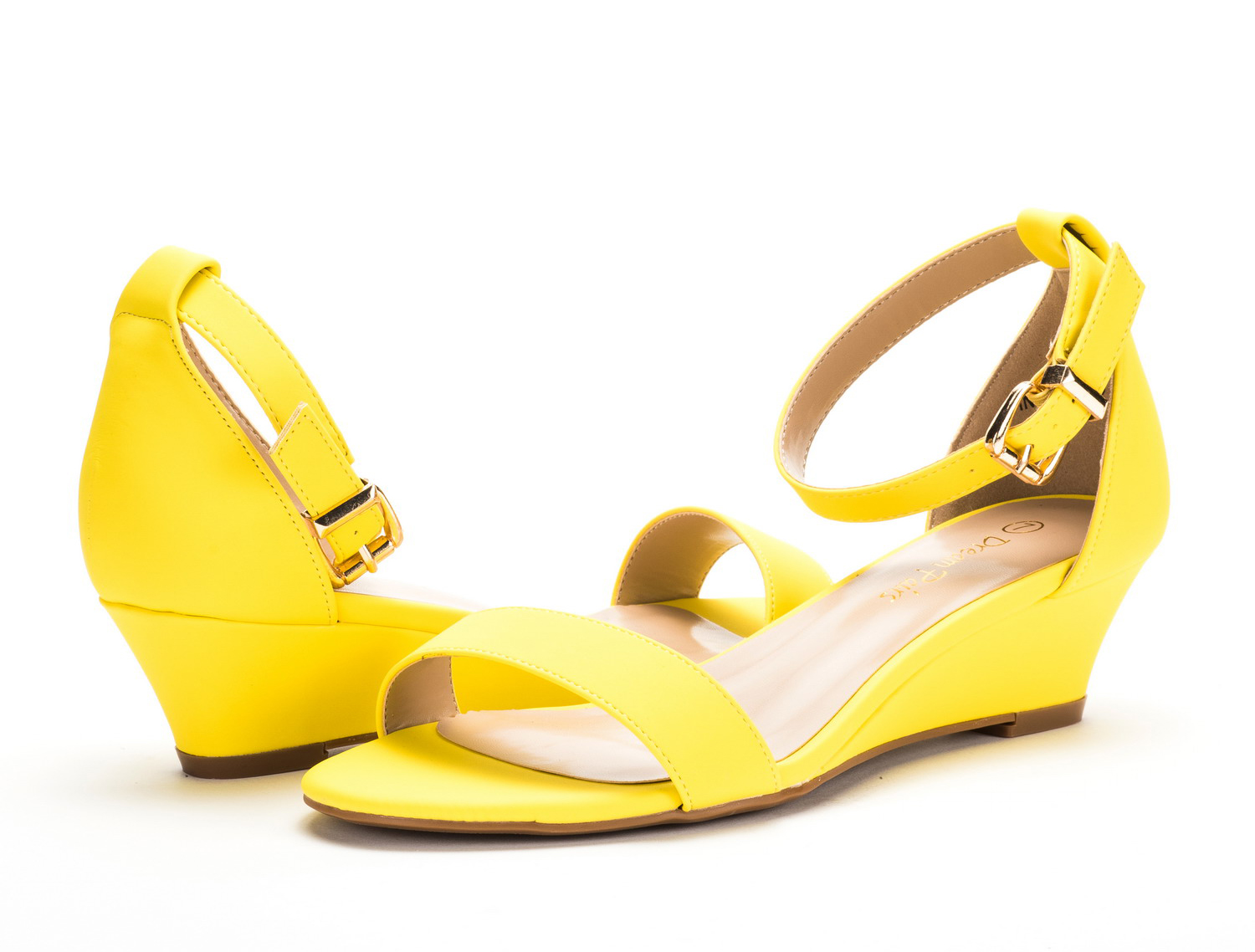 DREAM-PAIRS-Women-039-s-Ankle-Strap-Low-Wedge-Sandals-Open-Toe-Casual-Dress-Shoes thumbnail 31