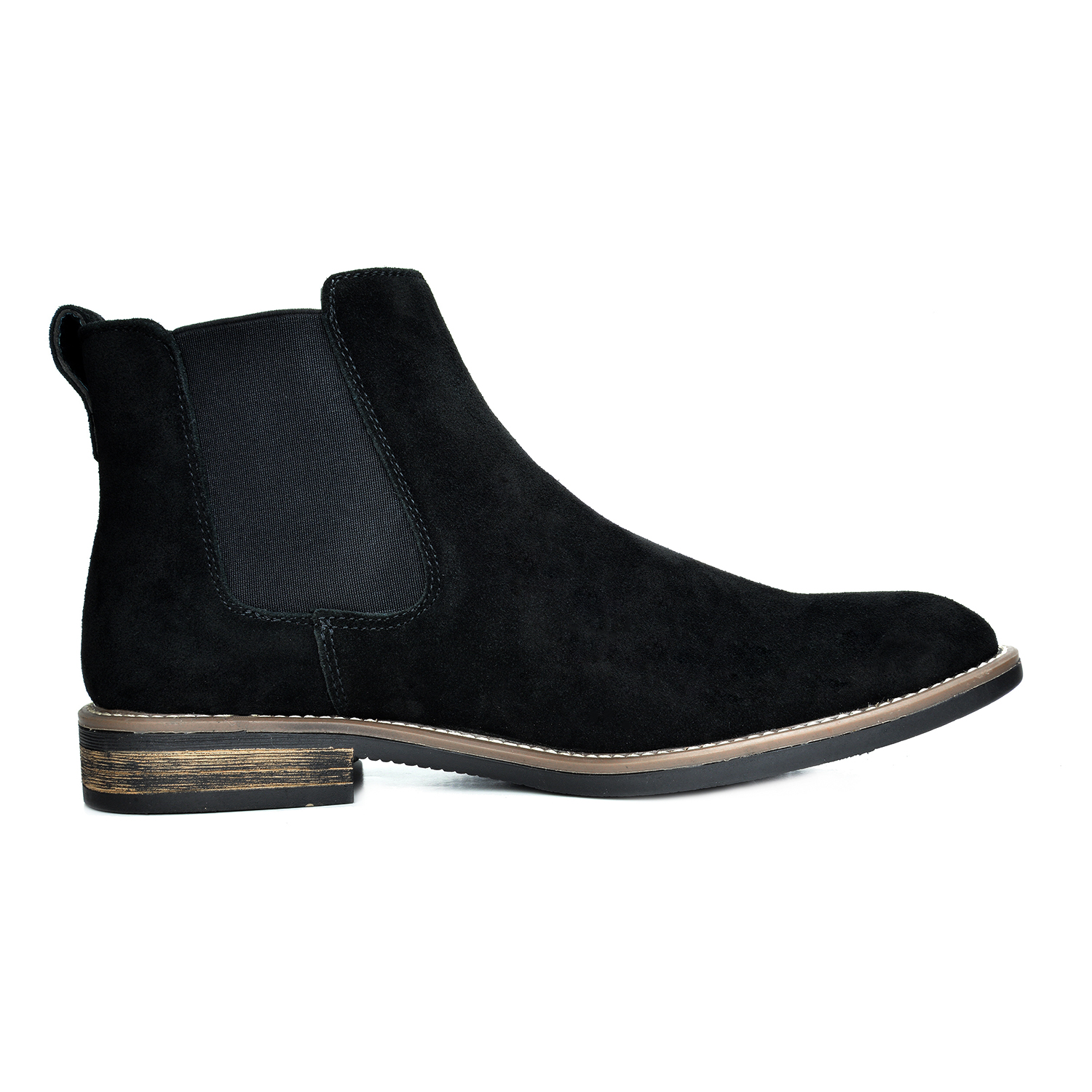b29672fe139b2 BRUNO MARC Men URBAN Suede Leather Chelsea Chukka Dress Ankle Boots ...
