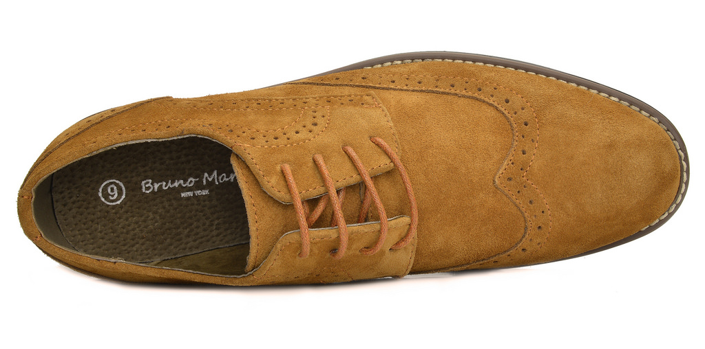 BRUNO-MARC-Fashion-Mens-Suede-Leather-Lace-up-Flats-Casual-Business-Oxford-Shoes thumbnail 38
