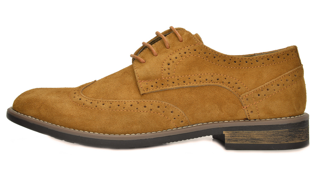 BRUNO-MARC-Fashion-Mens-Suede-Leather-Lace-up-Flats-Casual-Business-Oxford-Shoes thumbnail 34