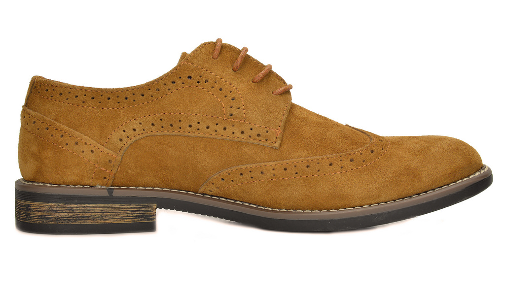 BRUNO-MARC-Fashion-Mens-Suede-Leather-Lace-up-Flats-Casual-Business-Oxford-Shoes thumbnail 35