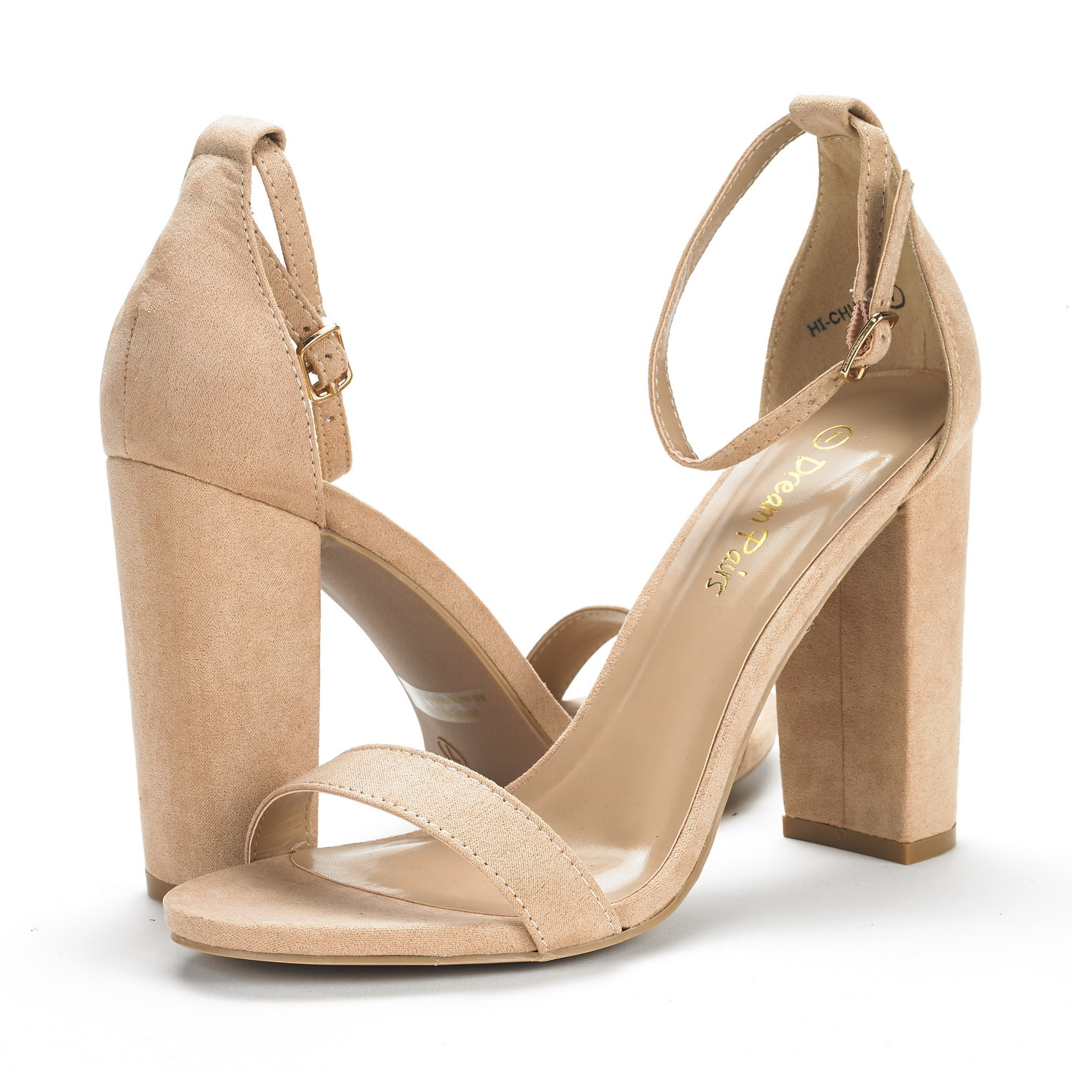 Details about DREAM PAIRS Women High Chunky Heel Ankle Strap Wedding Party Pumps Sandals 5 11