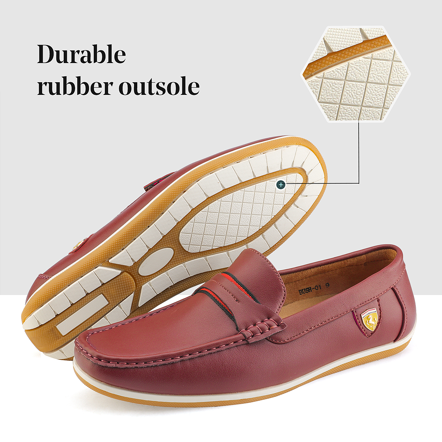 Bruno-Marc-Men-039-s-Casual-Loafers-Lightweight-Moccasins-Lazy-Driving-Soft-Shoes thumbnail 40