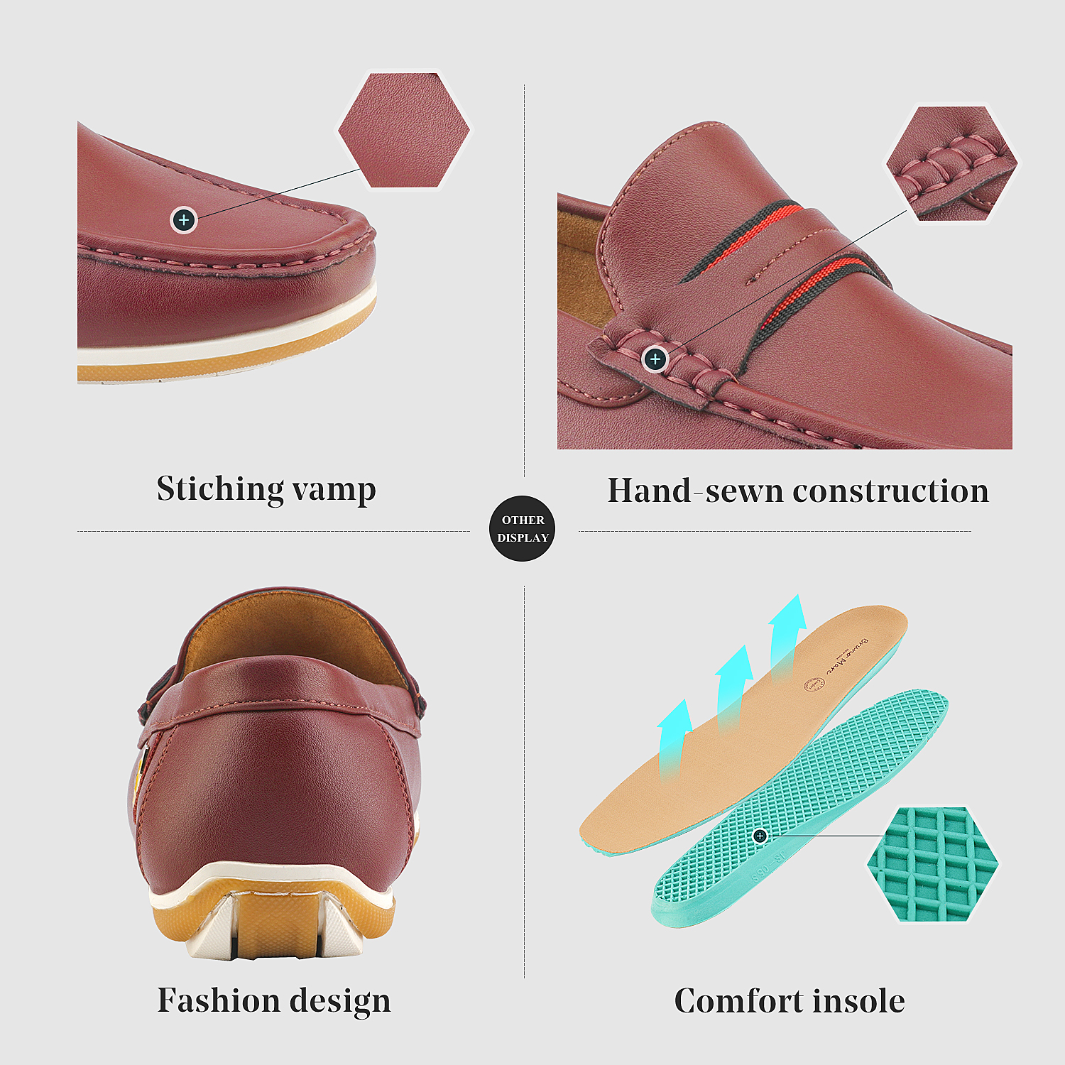 Bruno-Marc-Men-039-s-Casual-Loafers-Lightweight-Moccasins-Lazy-Driving-Soft-Shoes thumbnail 38
