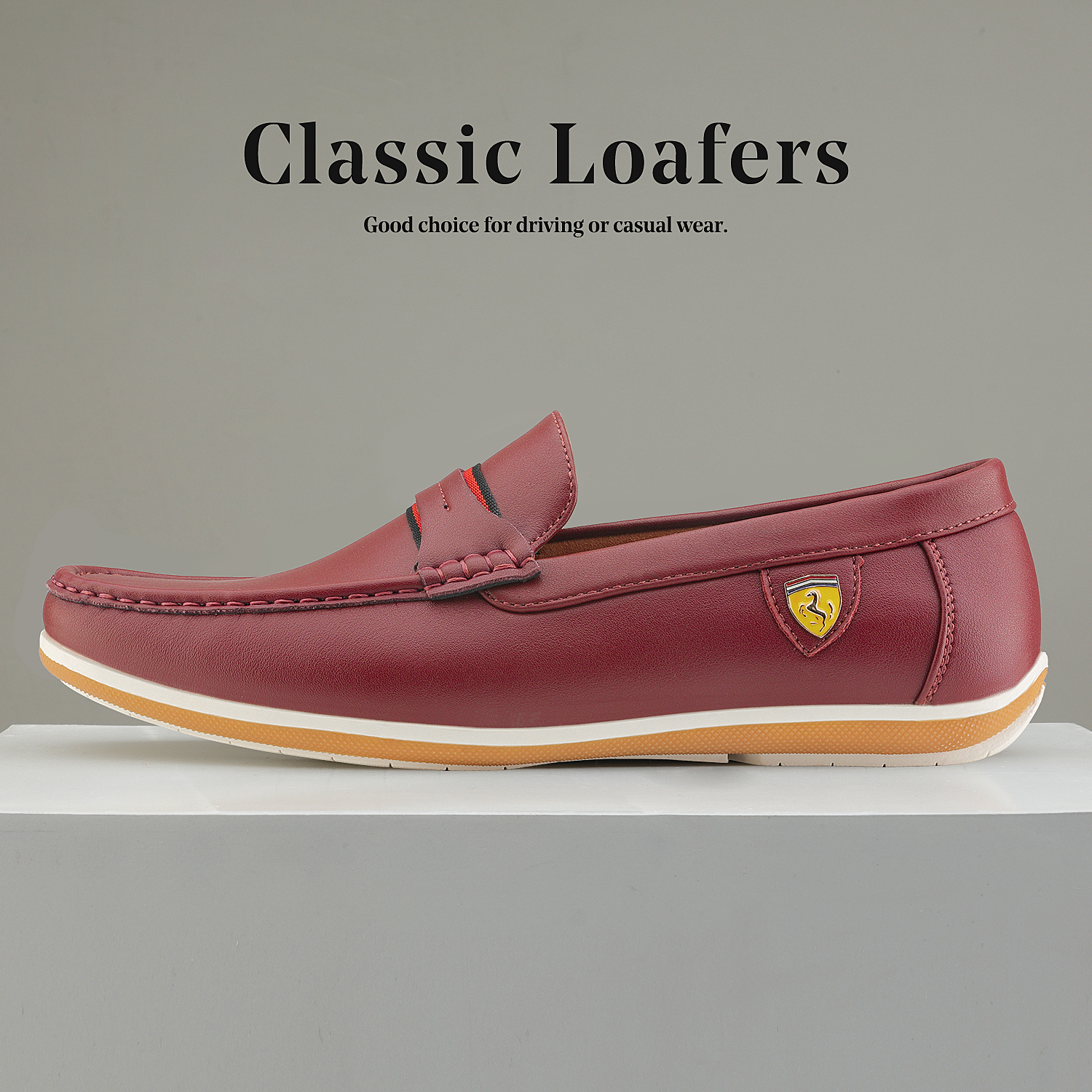Bruno-Marc-Men-039-s-Casual-Loafers-Lightweight-Moccasins-Lazy-Driving-Soft-Shoes thumbnail 39
