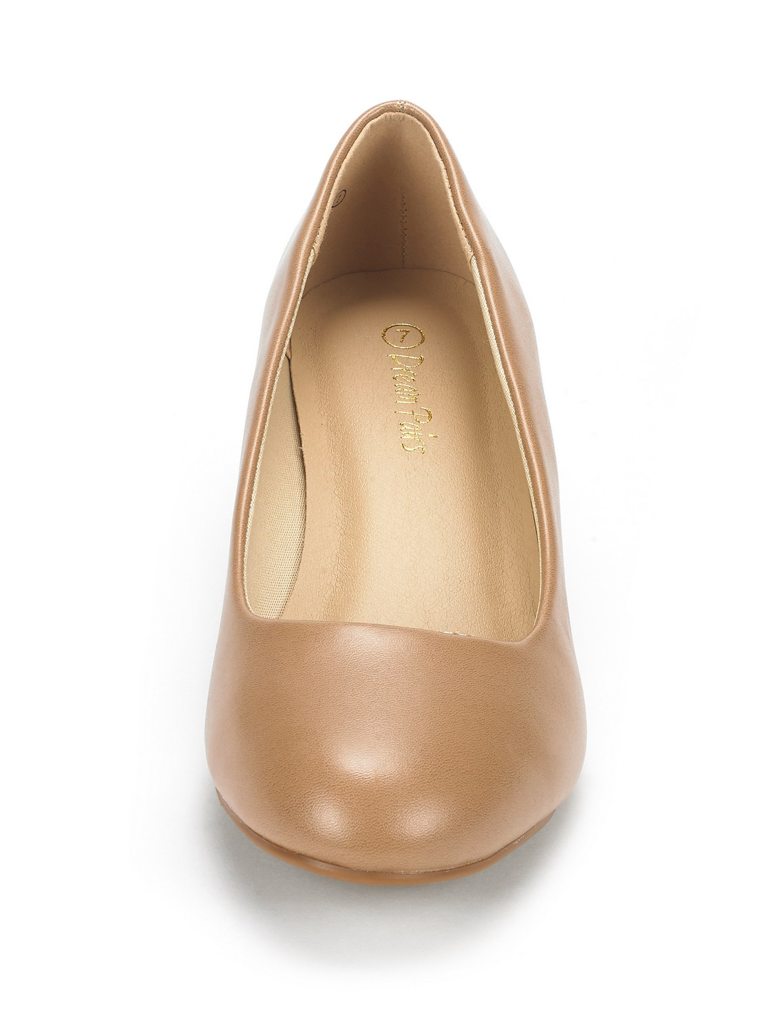 DREAM-PAIRS-Women-039-s-Mid-Wedge-Heel-Shoes-Slip-On-Comfort-Dress-Shoes-Suede-PU thumbnail 10