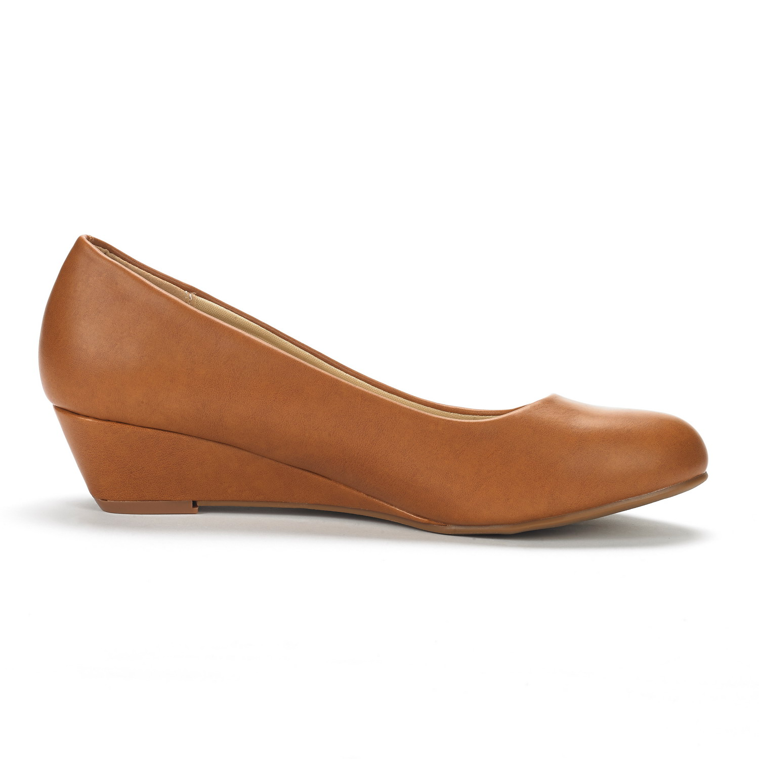 DREAM-PAIRS-Women-039-s-Mid-Wedge-Heel-Shoes-Slip-On-Comfort-Dress-Shoes-Suede-PU thumbnail 13