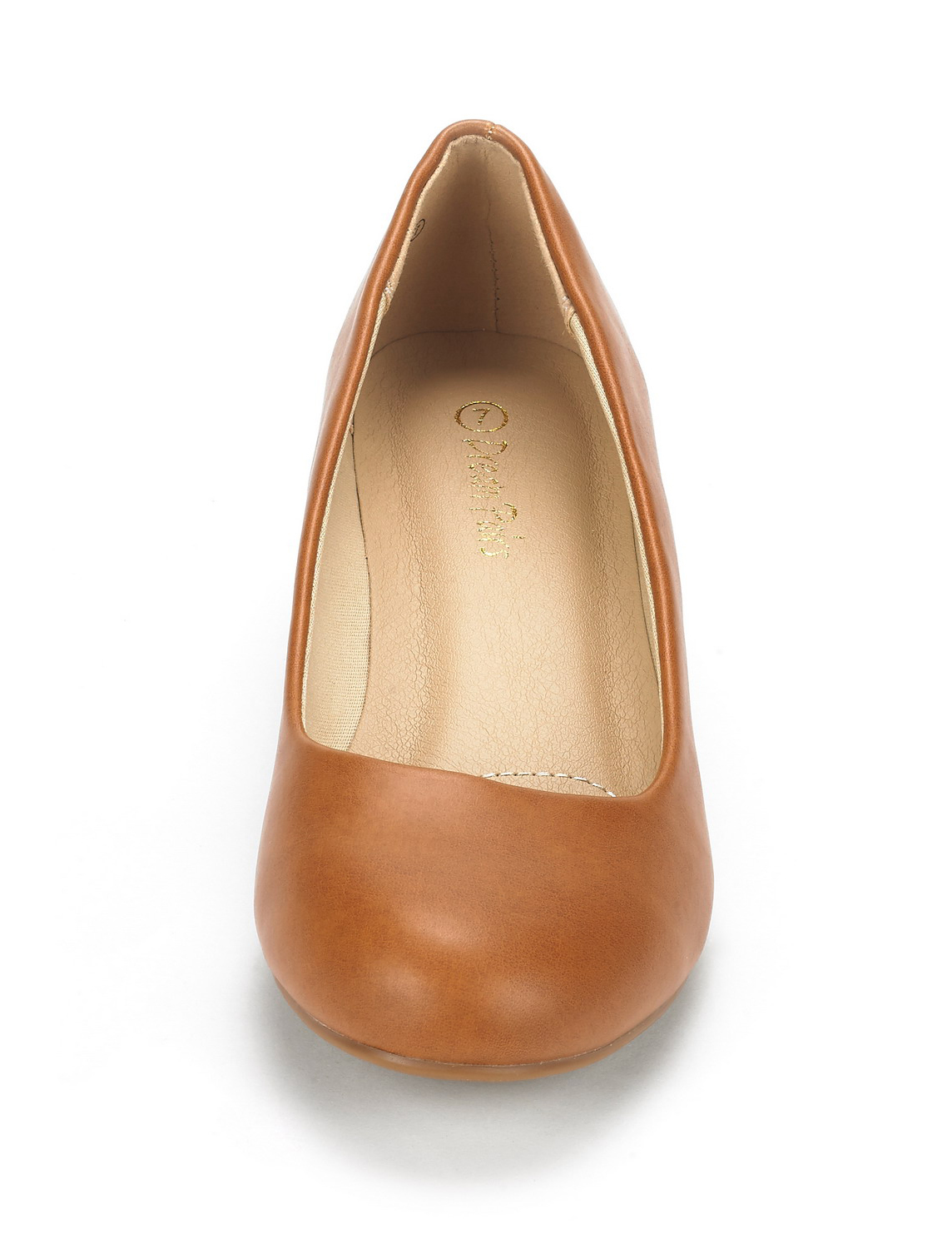 DREAM-PAIRS-Women-039-s-Mid-Wedge-Heel-Shoes-Slip-On-Comfort-Dress-Shoes-Suede-PU thumbnail 14