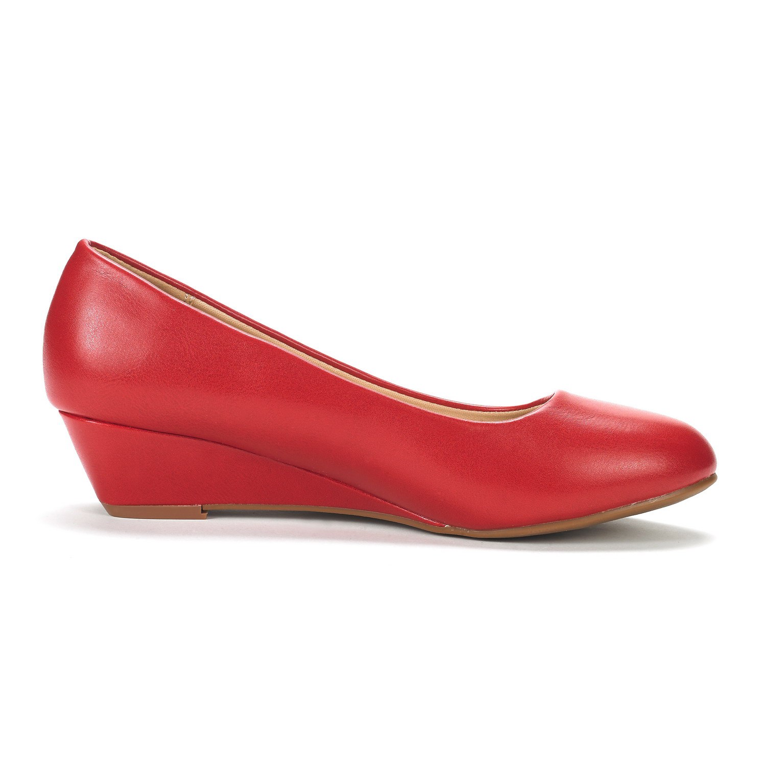 DREAM-PAIRS-Women-039-s-Mid-Wedge-Heel-Shoes-Slip-On-Comfort-Dress-Shoes-Suede-PU thumbnail 17