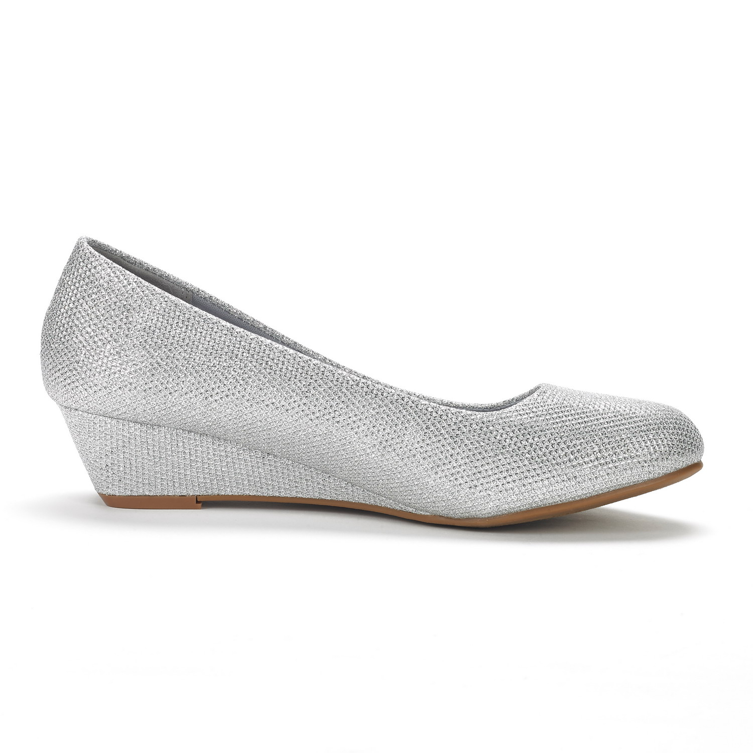 DREAM-PAIRS-Women-039-s-Mid-Wedge-Heel-Shoes-Slip-On-Comfort-Dress-Shoes-Suede-PU thumbnail 25