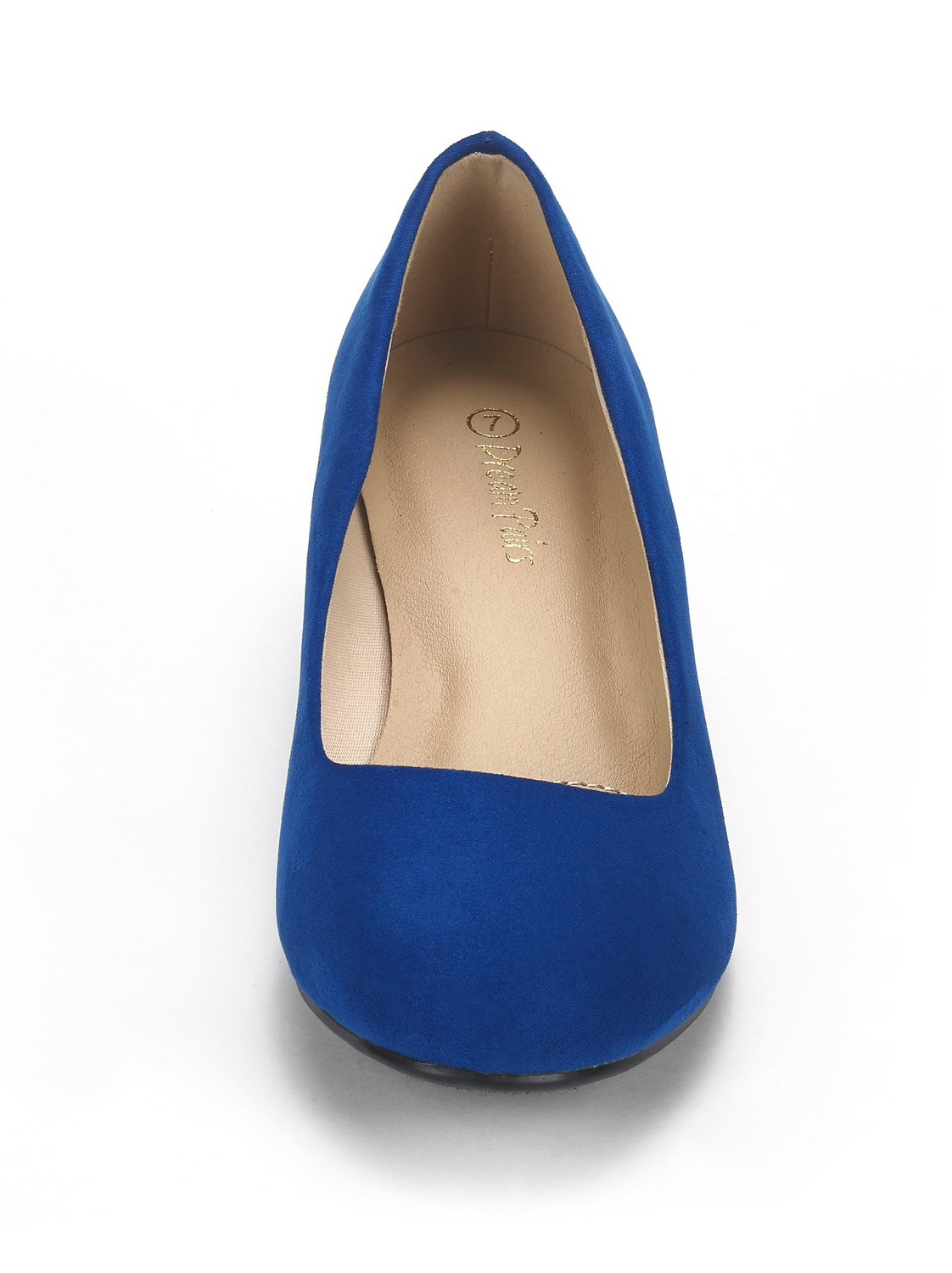 DREAM-PAIRS-Women-039-s-Mid-Wedge-Heel-Shoes-Slip-On-Comfort-Dress-Shoes-Suede-PU thumbnail 30