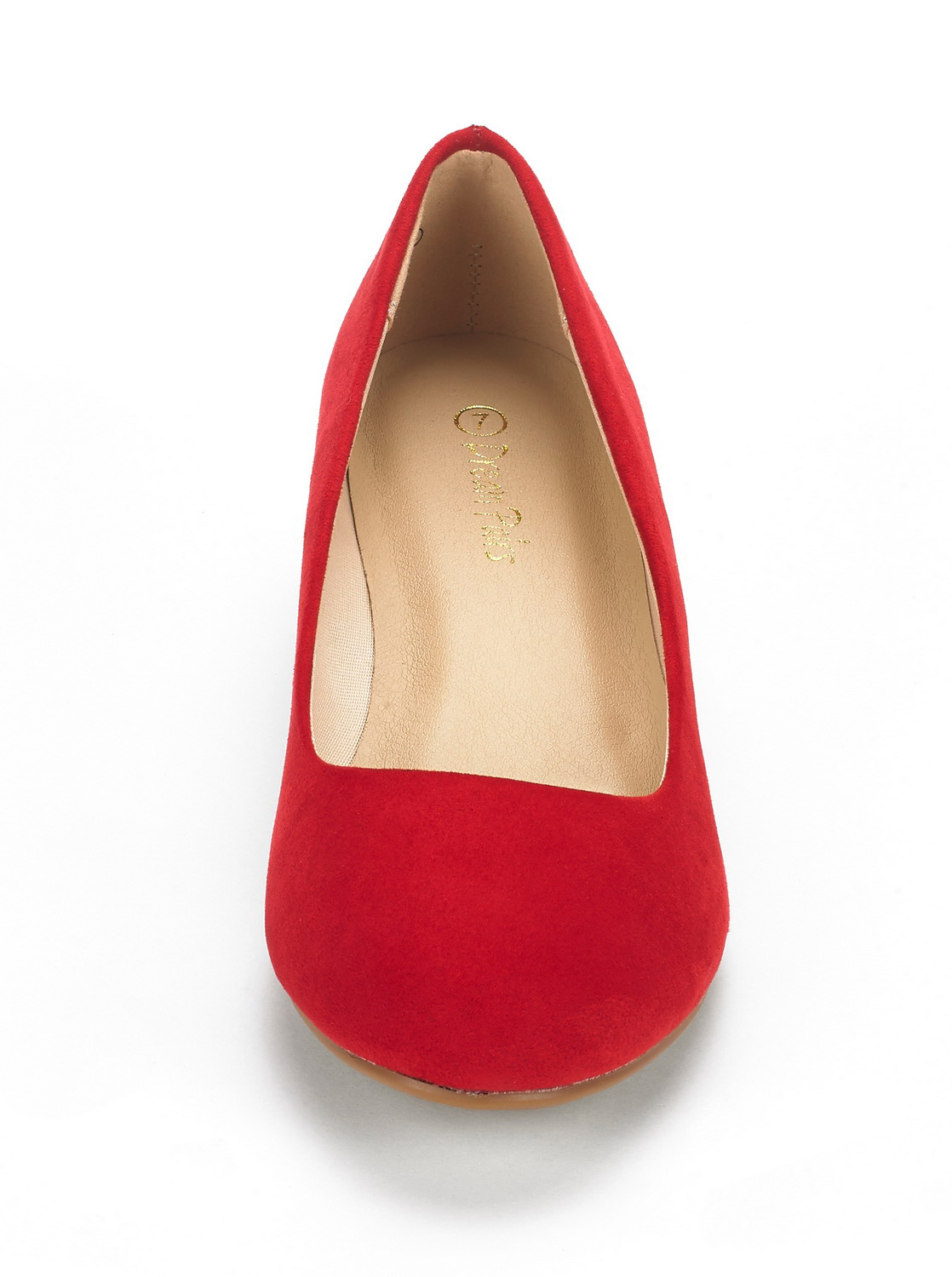 DREAM-PAIRS-Women-039-s-Mid-Wedge-Heel-Shoes-Slip-On-Comfort-Dress-Shoes-Suede-PU thumbnail 34