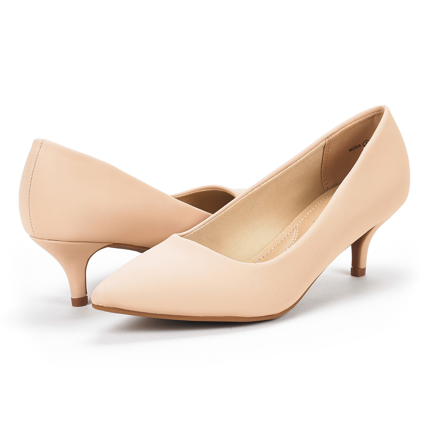 c42d463140d9a Details about DREAM PAIRS Womens MODA Low Heel D'Orsay Pointed Toe Dress  Pump Wedding Shoes