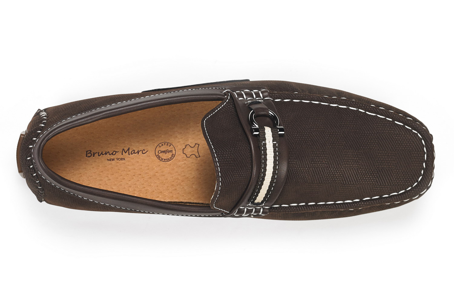 Bruno-Marc-Men-Casual-Driving-Loafers-Breathable-Antiskid-Slip-On-Moccasins-Shoe thumbnail 17