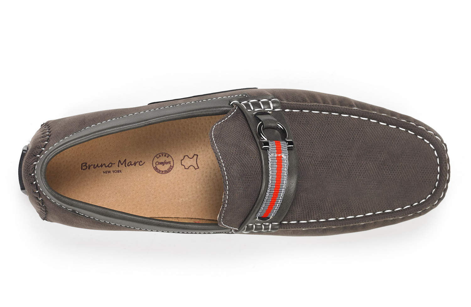Bruno-Marc-Men-Casual-Driving-Loafers-Breathable-Antiskid-Slip-On-Moccasins-Shoe thumbnail 25