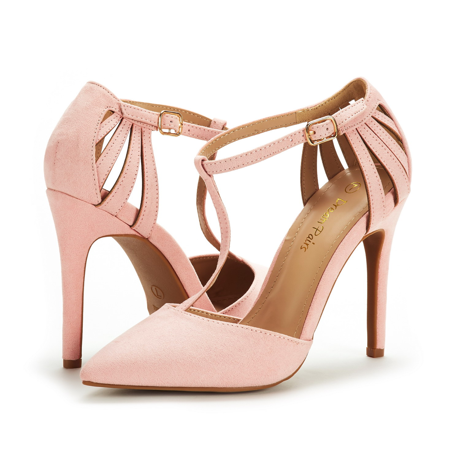 d9666fcbd713e Details about DREAM PAIRS Women Oppointed-Mary Dress High Heel Pointed Toe  Wedding Pumps Shoes