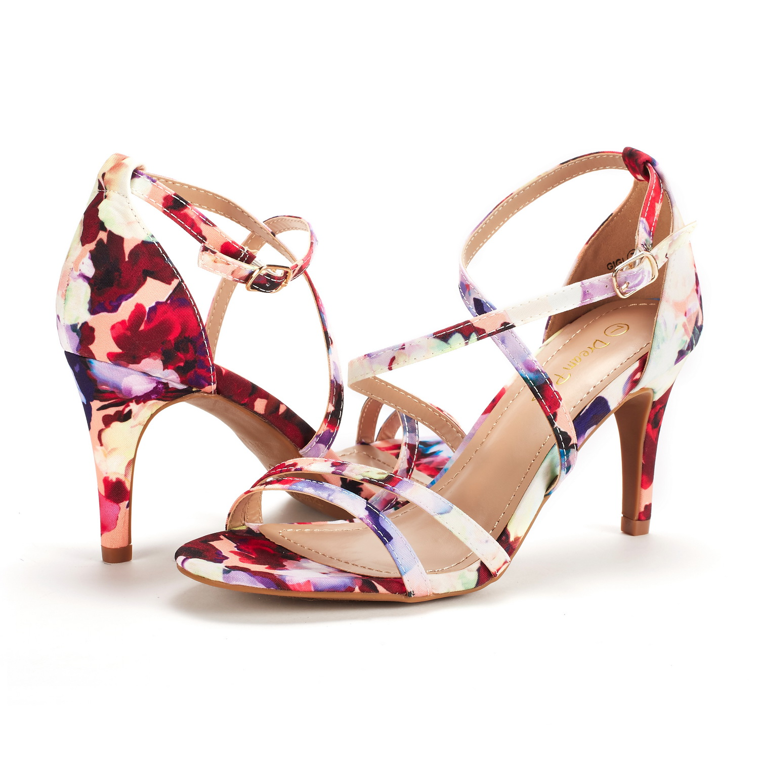 DREAM-PAIRS-Women-039-s-Ankle-Strap-High-Heel-Sandals-Dress-Shoes-Wedding-Party thumbnail 21