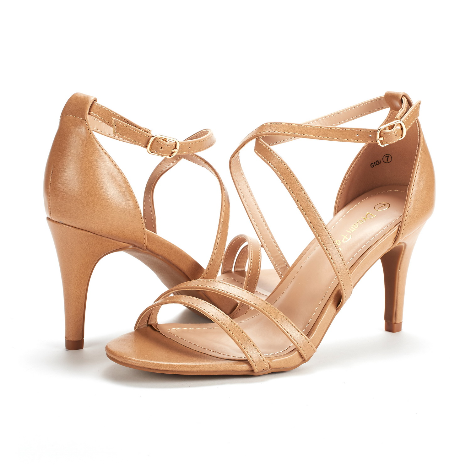 DREAM-PAIRS-Women-039-s-Ankle-Strap-High-Heel-Sandals-Dress-Shoes-Wedding-Party thumbnail 9