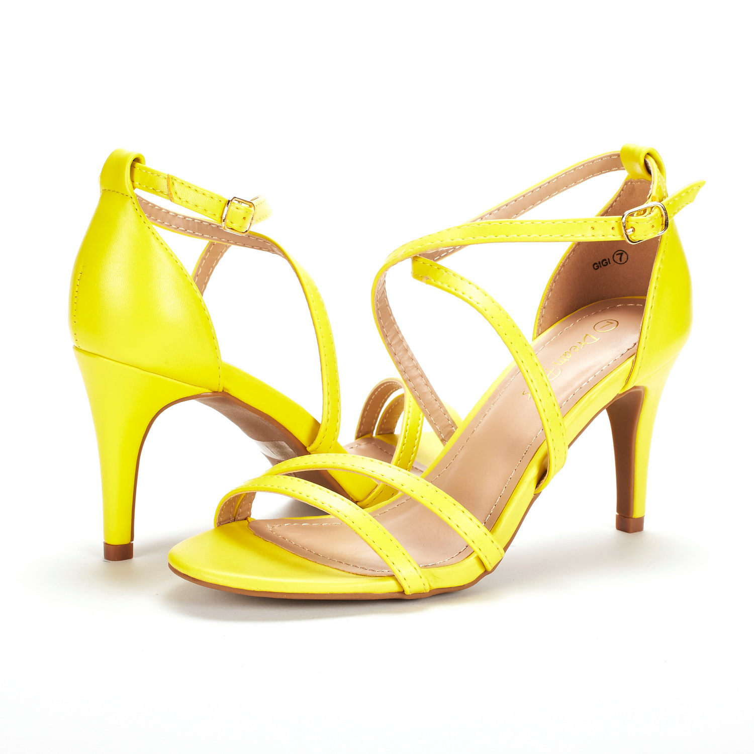DREAM-PAIRS-Women-039-s-Ankle-Strap-High-Heel-Sandals-Dress-Shoes-Wedding-Party thumbnail 5